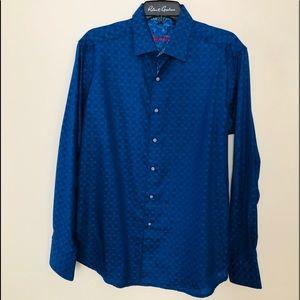 Robert Graham Button down Dress Shirt Size M NWOT